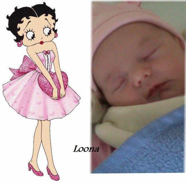 Ma cousine Loona est née comme moi le 21 juillet