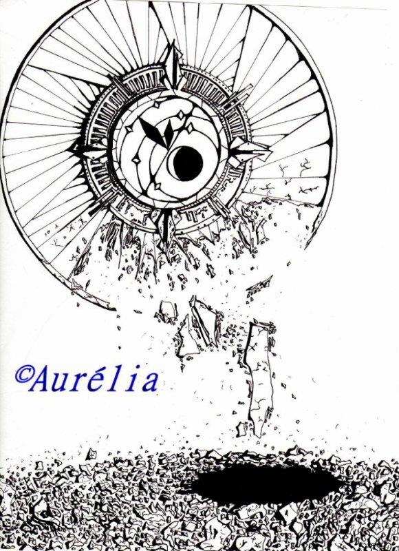 Les dessins d'Aurélia.