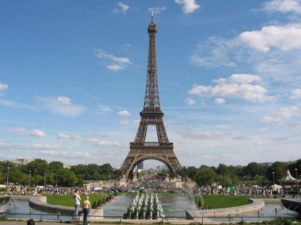 Suite à mon voyage en France !