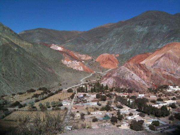La montagne aux sept couleurs