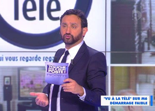Touche pas à mon poste : Cyril Hanouna mise sur l'échec de Vu à la télé sur M6