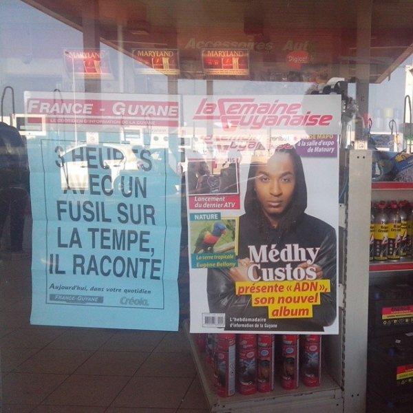 "Medhy Custos sur ""La semaine Guyanaise"" !"