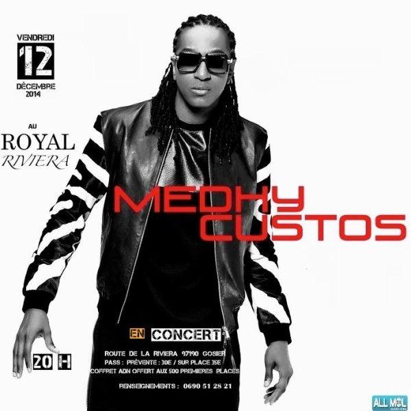 Medhy Custos / @medhycustosoffi en concert...