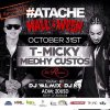 Halloween le 31 octobre avec T-Micky et Medhy Custos / @medhycustosoffi