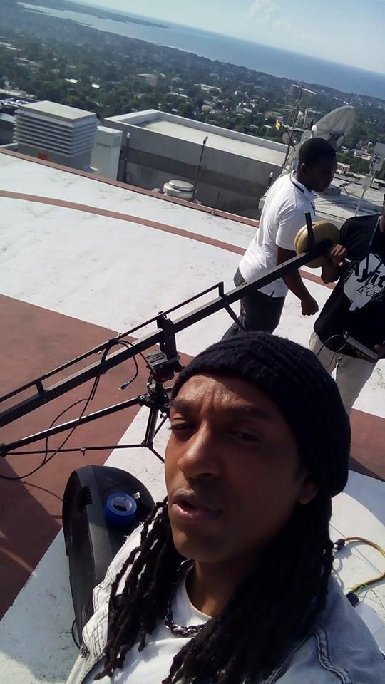 """Photo du tournage du clip """"Mé Kité'y Alé"""" titre extrait du nouvel album de Medhy Custos """"ADN"""""""