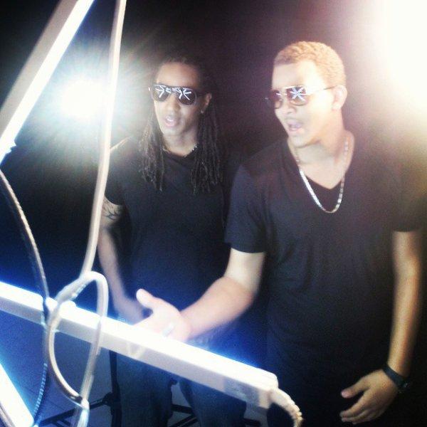 Lors du Tournage du clip de #Mé kité'y alé# feat T Micky... Exclusive !