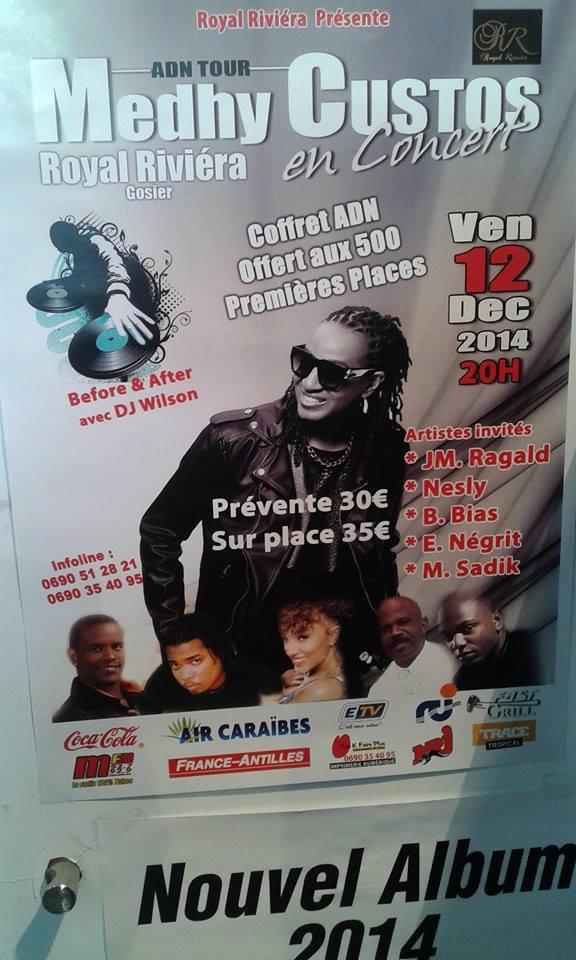 """""""ADN"""" tour & """"ADN"""" part One - Rendez vous le 12 décembre en Guadeloupe..."""