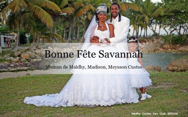 Bonne Fête à toutes les mamans... Bonne fête Savannah...