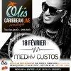 Medhy Custos est en live acoustique ce jeudi 18 février 2016 à L'Otis Caribbéan Live de Paris...