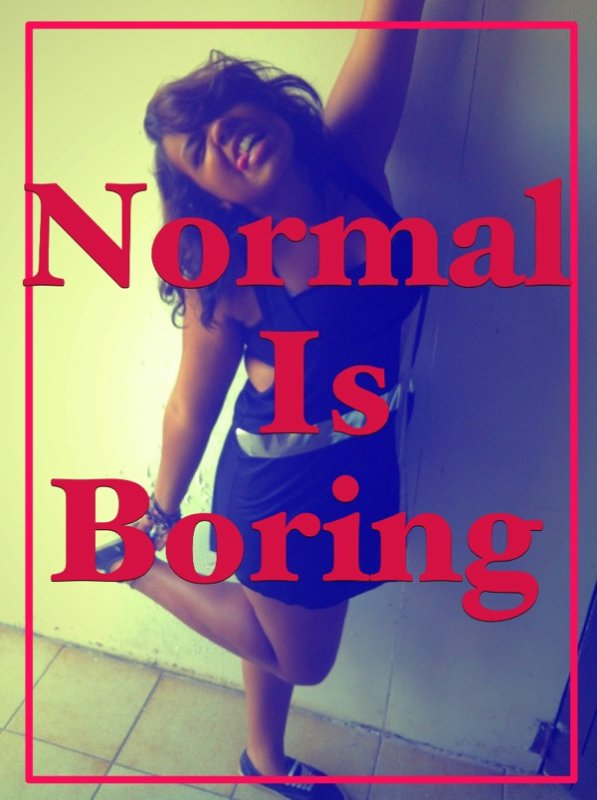Normal people sucks
