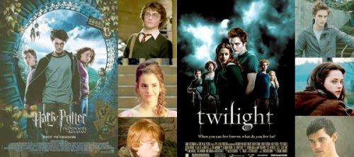 Special HP et Twilight A 80 votes, je stoppe le sondage