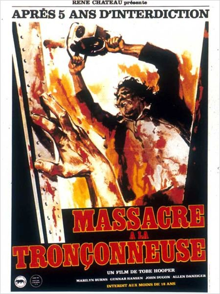 MASSACRE A LA TRONCONNEUSE ( 1974 )
