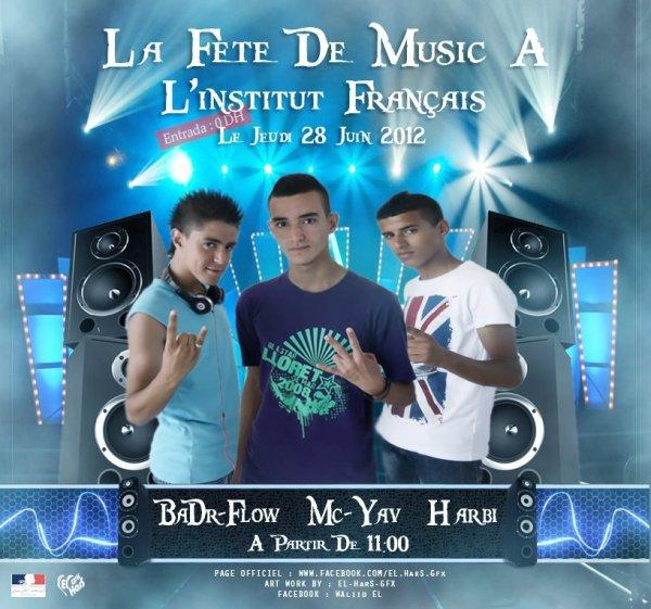 La FeTe De Music A L'institut Francais Le JueDi 28 Juin 2012.