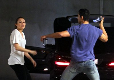 March 09, 2011 Miley Cyrus Leaving the gym in West Hollywood part 2