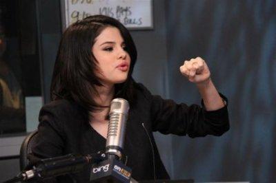 March 8, 2011 Selena Gomez at 102.7 KIIS FM Studios Los Angeles.