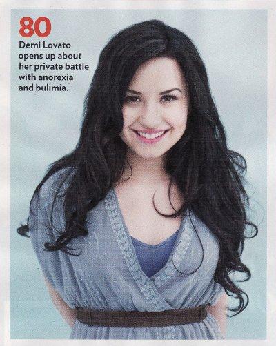May 2, 2011 Demi Lovato - People Magazine