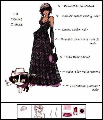 la tenue classe