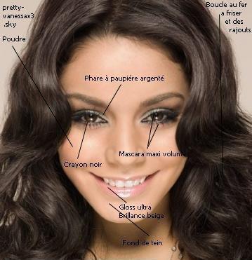Maquillage Vanessa en images !