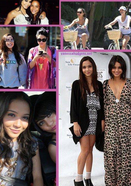 Vanessa et sa sister Stella !
