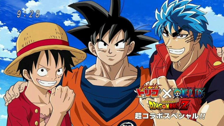 One piece dragon ball tyon