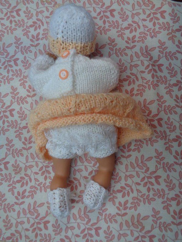 habiller des petits poupons pour ma petite fille