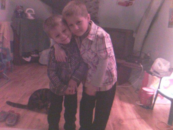 mon neveux et mon fieule