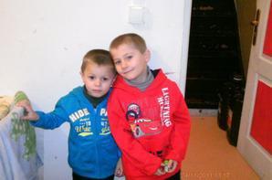 mon fieule et mon neveux !!