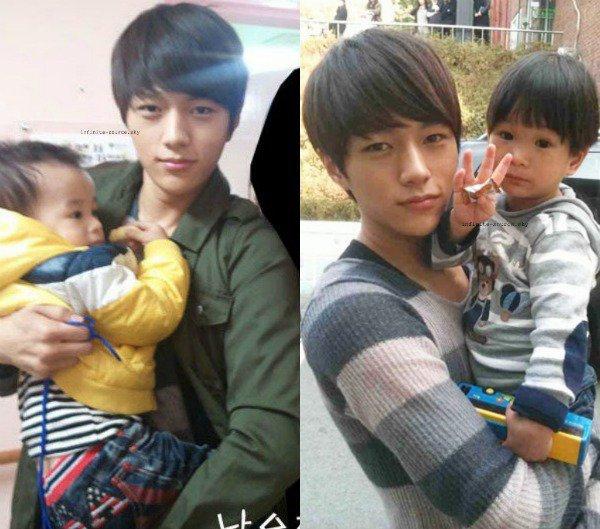 T-ara & Infinite avec bébé