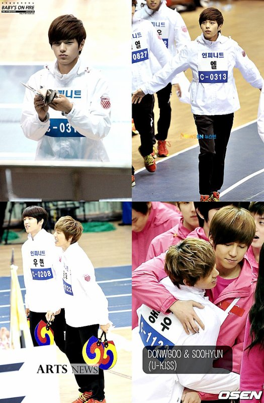 MBC - Idol star athletics & swimming championship 09/01/12