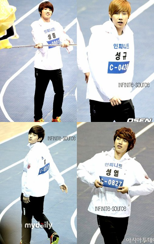 MBC - Idol star athletics & swimming championship 09/01/12