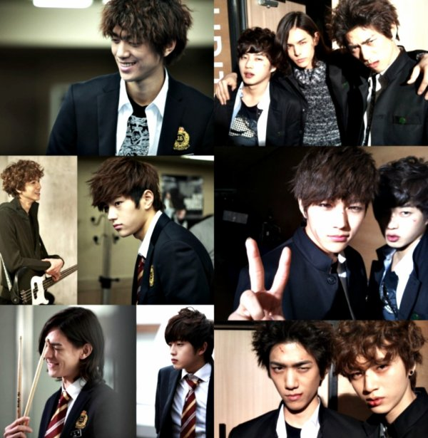 De nouvelle photos de Shut Up Flower Boy Band pour le magasine First Look, selca's, et photos promo.