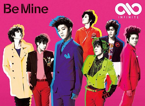 Pochette de Be Mine Vers. Japonaise (4versions sont disponible)