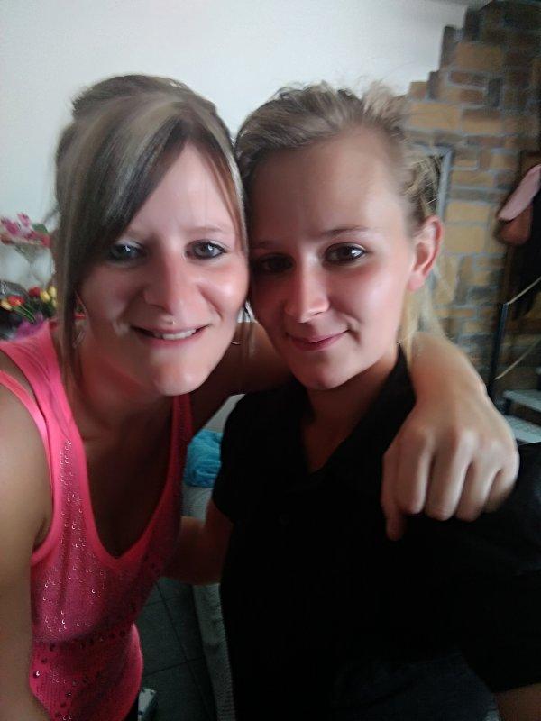 Nos moment photos avec ma soeur