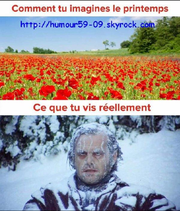 L'hiver encore l'hiver ...