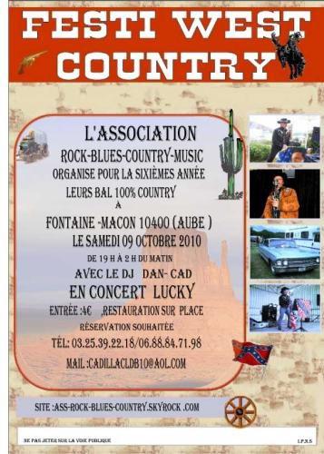 AMBIANCE COUNTRY SAMEDI 09 OCTOBRE VENEZ NOMBREUX