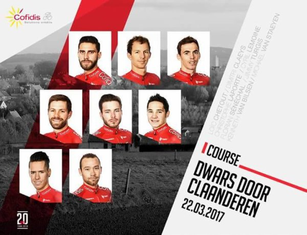 A TRAVERS LES FLANDRES 2017    DWARS DOOR VLAANDEREN