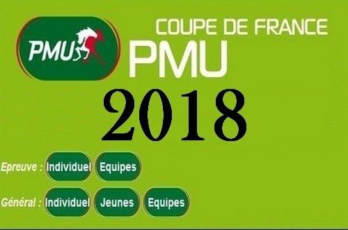 MANCHE DE LA COUPE DE FRANCE PMU 2018