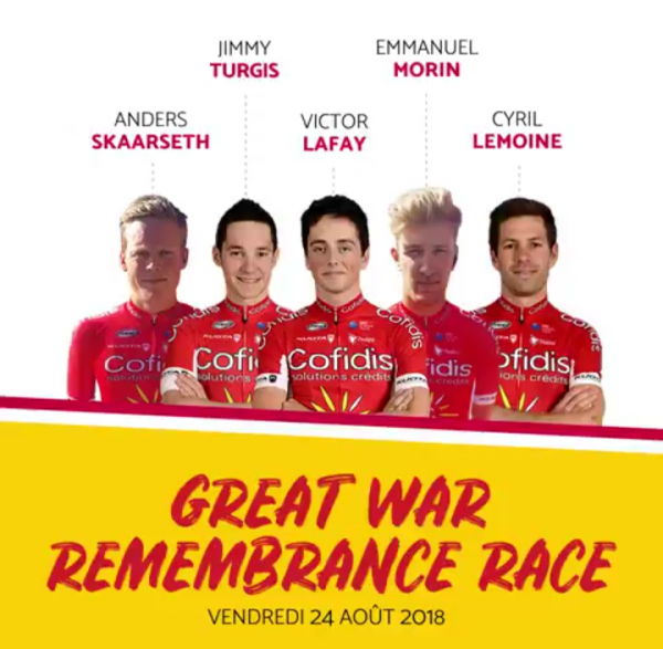 GREAT WAR  REMEMBRANCE RACE 2018