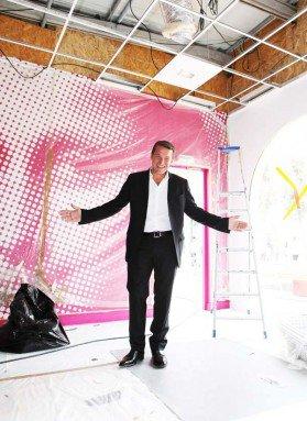 Benjamin Castaldi dans la nouvelle maison