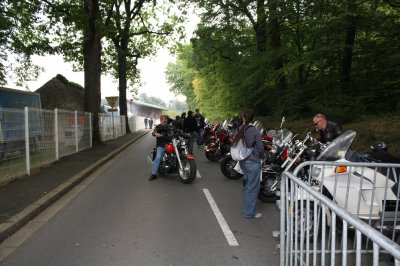 Après cette belle balade on c'est retrouver à Bagnoles de l'Orne pour un rassemblement moto
