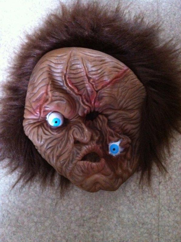 Mon masque pour faire flipper les gamin :p