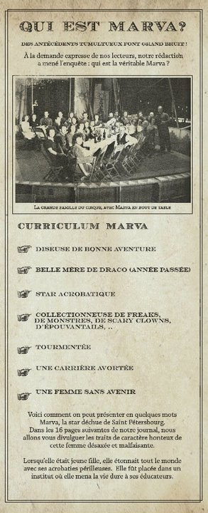 La vie de Marva