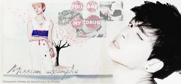 Mission accomplie (Chaussure trouée et dentifrice à la fraise) ▬ JongKey____♥