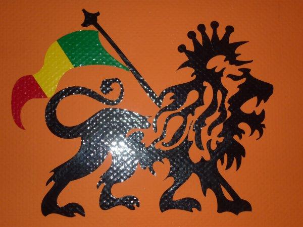 Lion Rasta en 4 couleurs