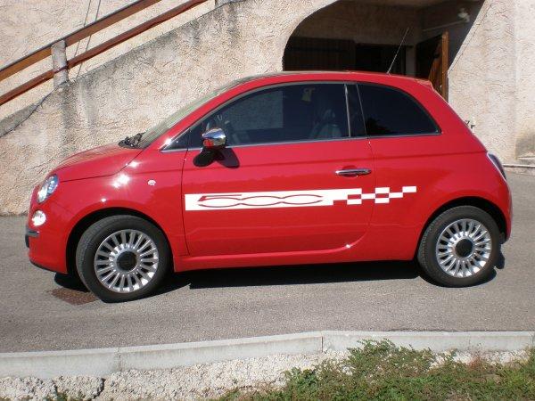 Bandes Fiat 500