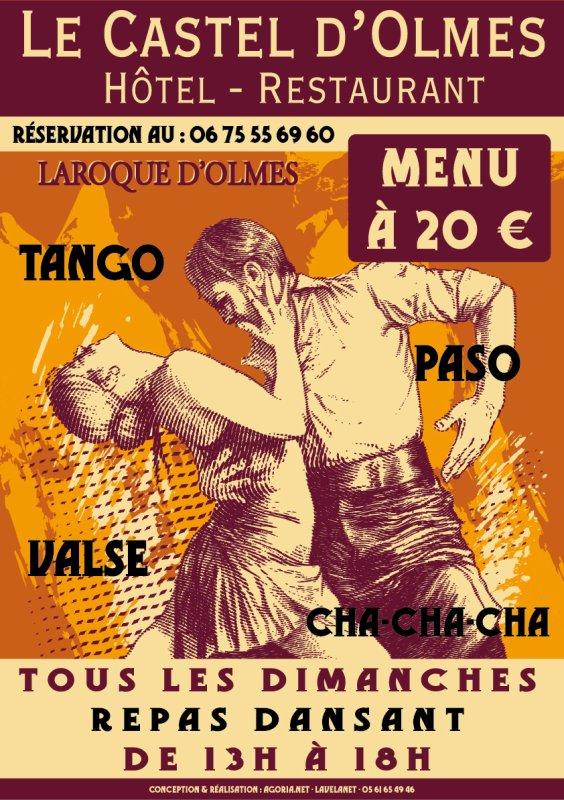 Repas Dansant au Castel D'olmes