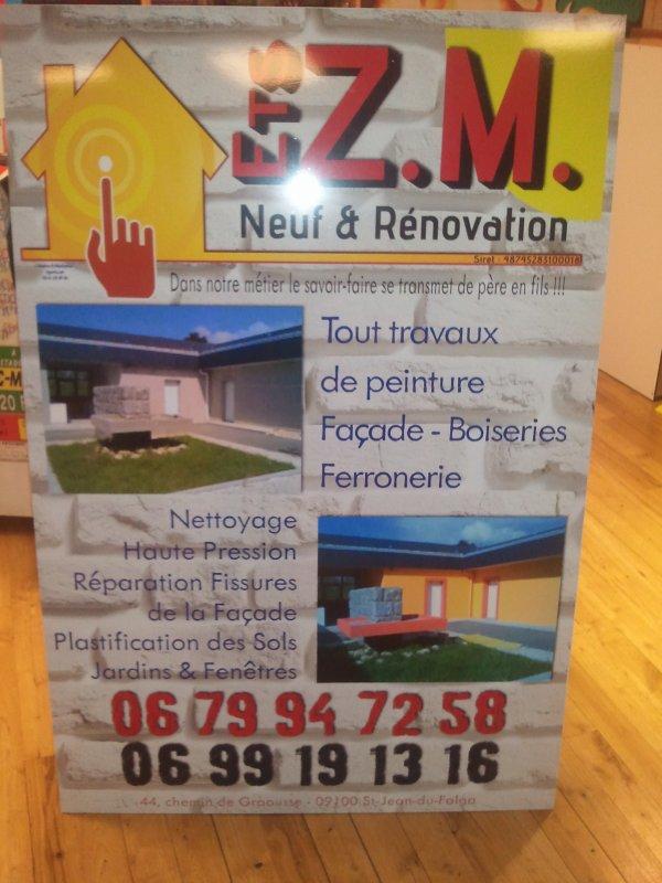 ZM Entreprise pour vos toitures et facades
