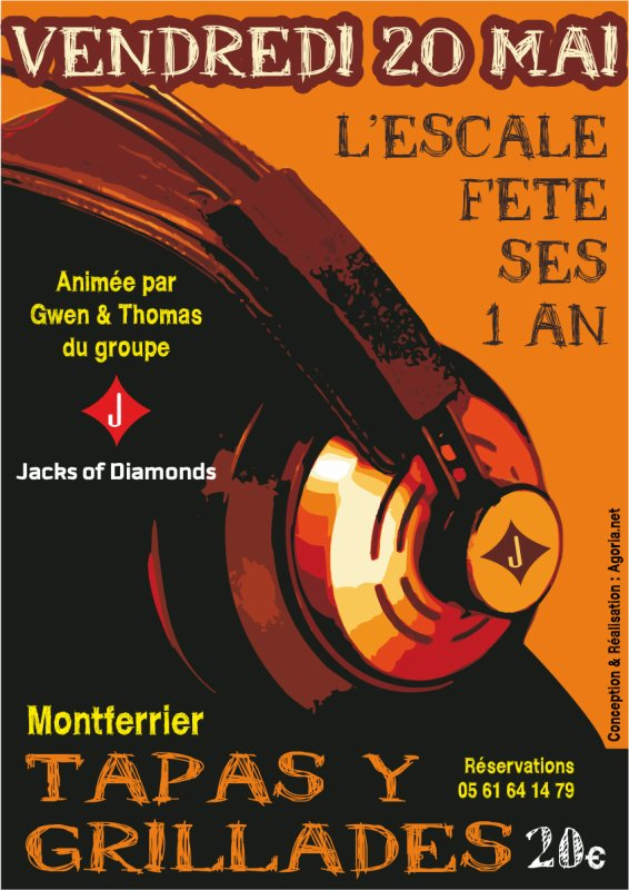 Vendredi 20 Mai a l'Escale - Montferrier