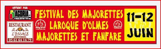Banderole Majorettes