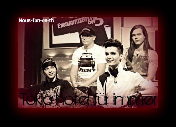 ღ Tokio Hotel : Un groupe plus que parfait. ღ